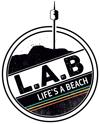 Lifes a beach logo